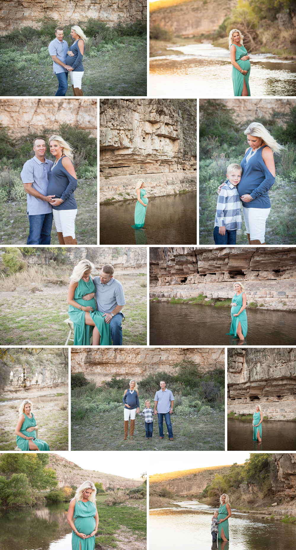Beautiful Location Maternity Shoot